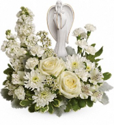 Angel of Grace Bouquet Funeral Arrangement