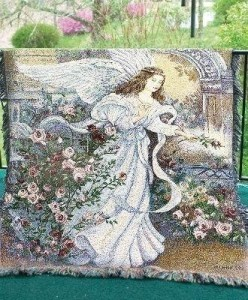 Angel of Love Funeral Throw