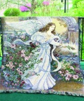 Angel of Love Throw Sympathy gift item