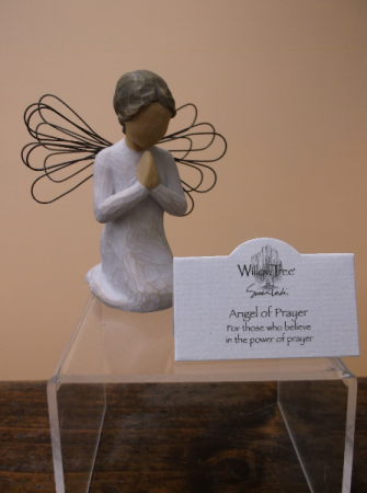 """ANGEL OF PRAYER"" WILLOW TREE ANGEL"