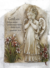 Angel plaque