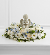 Angel Ring of Flowers  Sympathy Arrangement