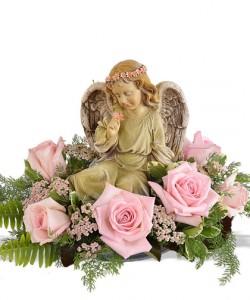 Angel Rose Arrangement  in Beech Grove, IN | THE ROSEBUD FLOWERS & GIFTS