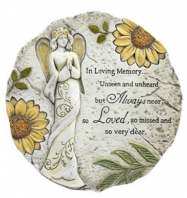 Angel Stepping Stone with Stand Gifts