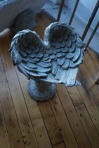 Angel Wing Bird Bath Gift