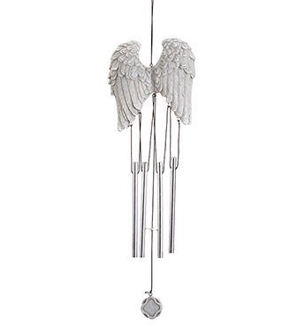 Angel Wing Windchime Sympathy Gifts