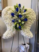 Angel wings Funeral