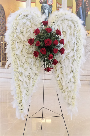 Angel Wings Spray in Boca Raton, FL | Flowers of Boca
