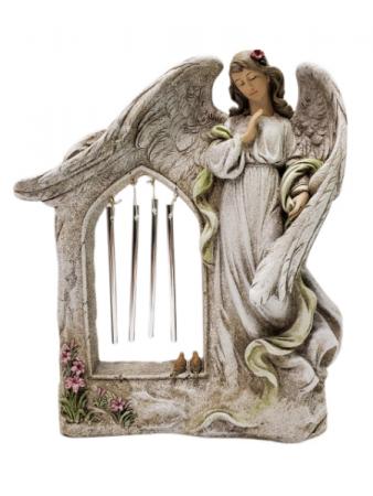 Sympathy Keepsake - Angel With Chimes