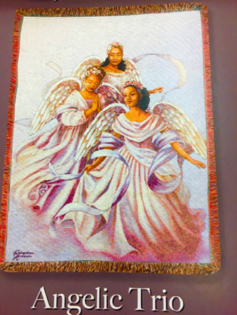 Angelic Homegoing Afghan