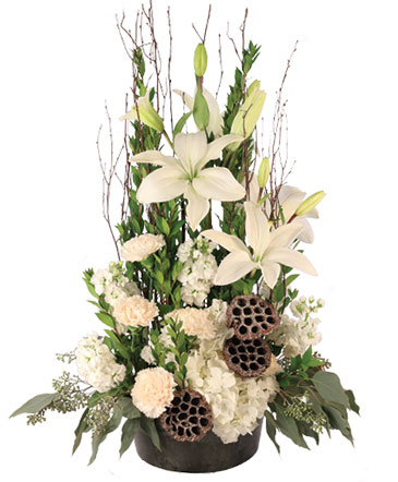 Angelic Ivory Floral Arrangement