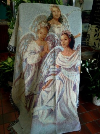 Angelic Trio Sympathy Throw