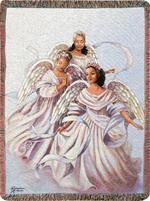 Angelic Trio Throw