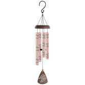 Angels Among Us  Rose Gold Windchimes 21""