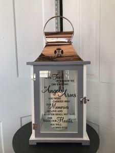 Angel's Arms Large Lantern  in Du Bois, PA | BRADY STREET FLORIST