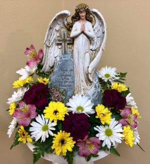 Angel's Embrace Keepsake in Springfield, IL | FLOWERS BY MARY LOU INC