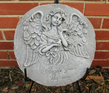 Angels guide the way plaque