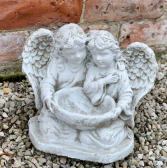 Angels with Bowl Stone