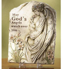 Angels Watch Over You Plaque