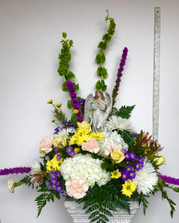 Angel's comfort sympathy Flowers