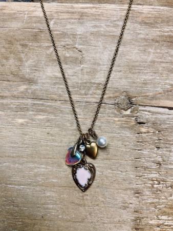Anne Koplik Heart Necklace