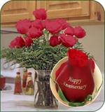 Anniversary celebration Bouquet Roses