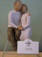 """ANNIVERSARY"" WILLOW TREE FIGURINE  in Springfield, Vermont | WOODBURY FLORIST"