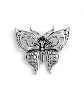 Antique Silver Butterfly