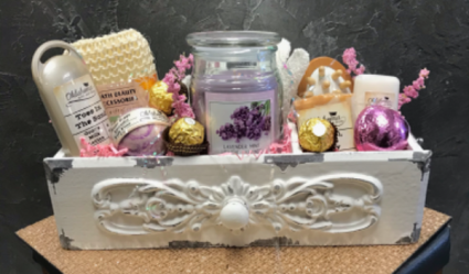Antique White  Pampered Box