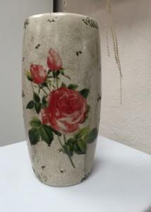 Antiqued Rose Vase Vase in Crestview, FL | The Flower Basket Florist