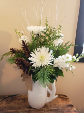 Antler pitcher winter whites