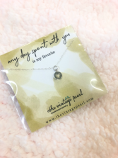 Any day spent with you necklace