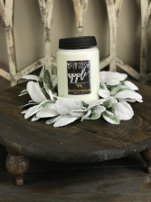 apothecary mcintosh apple candle