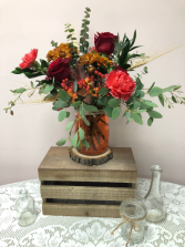 Apple Crisp Fall Arrangement