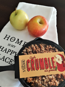 APPLE CRUMBLE COMPLETE KIT Presented in a pretty gift bag
