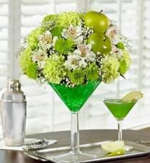 Martini Bouquet Apple-Tini