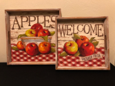Apples Serving Tray Art