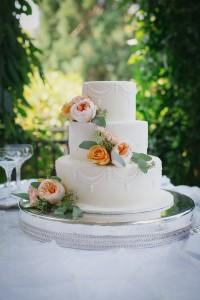 Arabella Paul's Wedding Cake by Sweet Thea Cakes