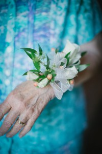 Arabella Paul's Wedding Corsage
