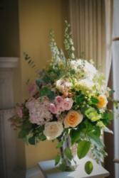 Arabella Paul's Wedding Reception flowers