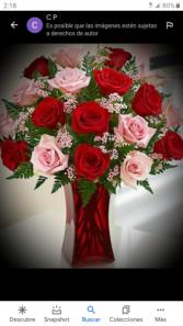 arangement # 5 rosas