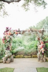 Arbor decorations custom colors and flowers to match your wedding