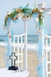 Square Shaped Arbor Rental From Enchanted Florist