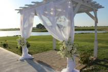 Arbor  wedding
