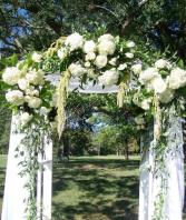 Arbor wedding flowers Wedding Flowers