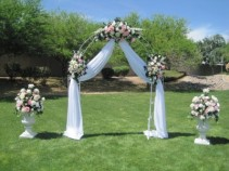 Wedding Arch arrangements