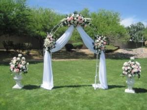 Wedding Arch arrangements   in Vancouver, BC | Paradise Garden Florist