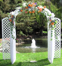 ARCH DECORATION WEDDING