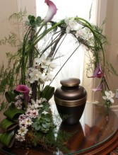 Arch of Serenity Cremation Feature Design