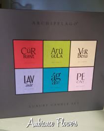 Archipelago Luxury Candle Set